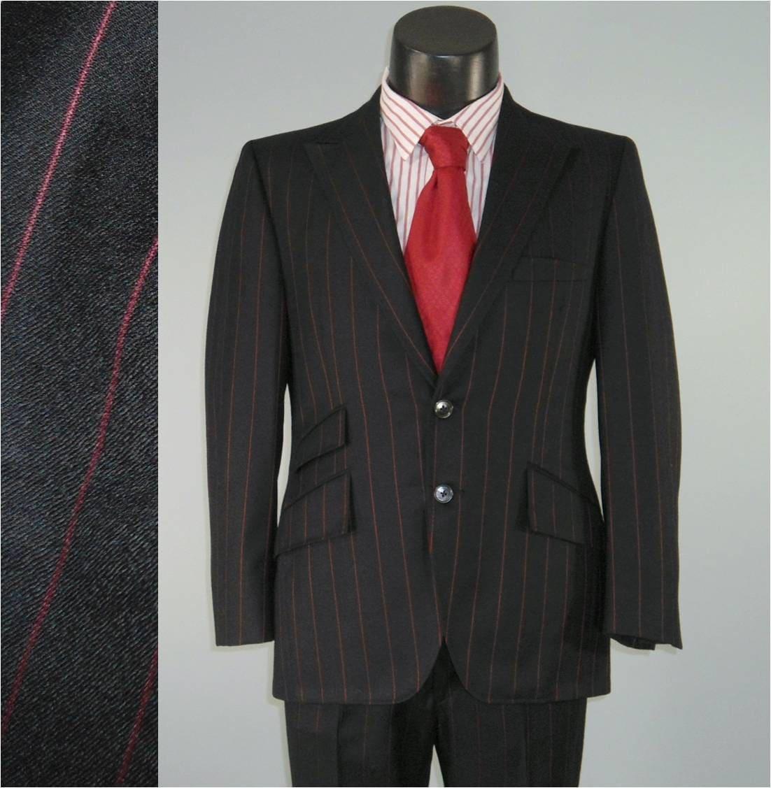 1960s Mens Colorful Suits Vintage mens suit 1960s nod to