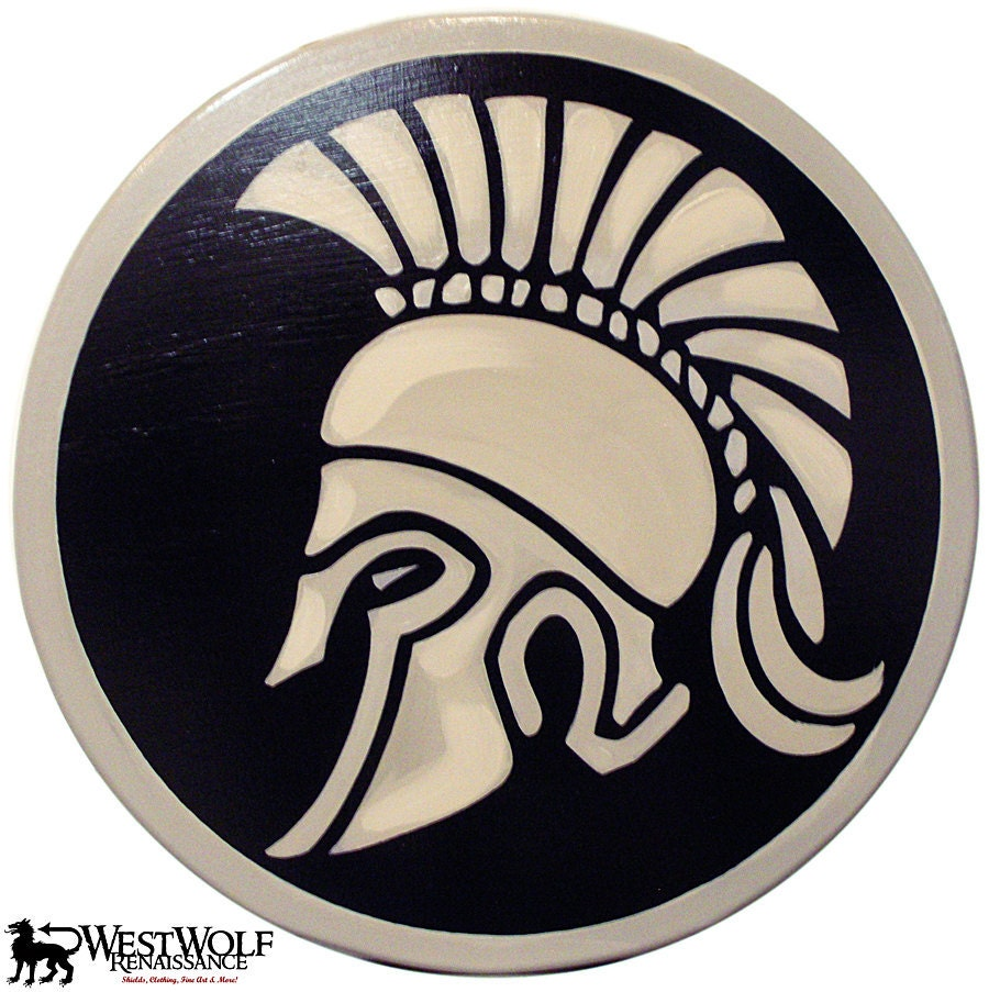 Don Wood Athens >> Greek / Corinthian Helmet Shield