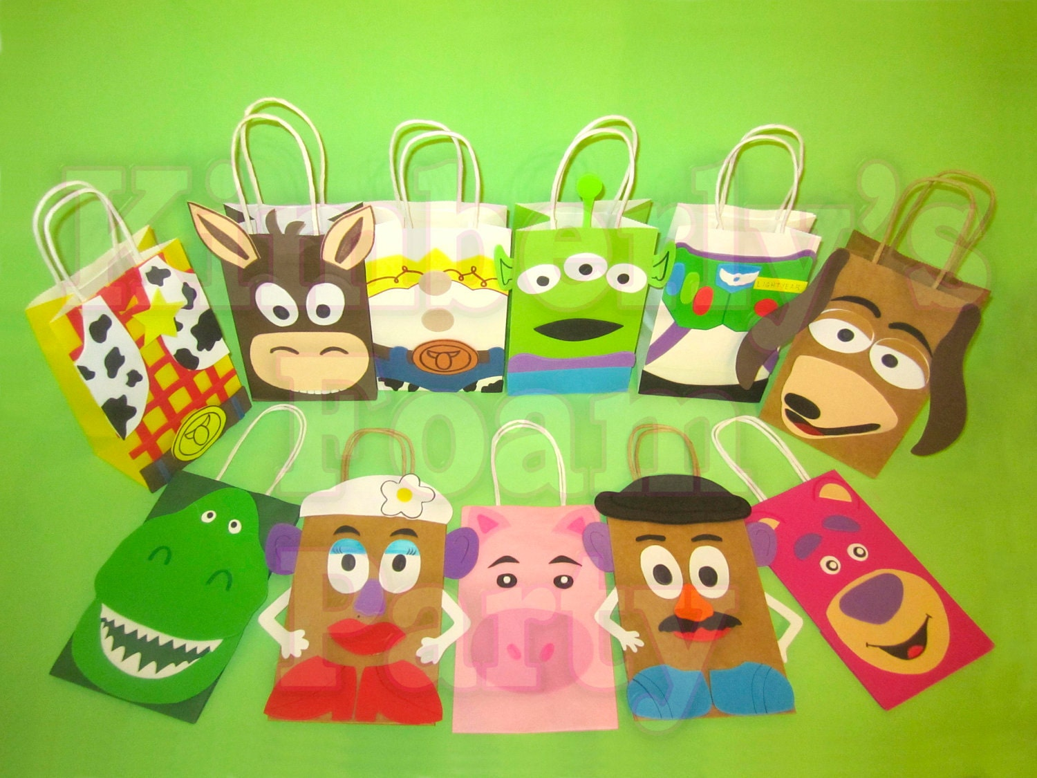 Gift Bag Toys : Toy story party bags