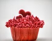 Cupcake, sweets, cream, cake, home decor, store decor, bakery decor, fine art photography