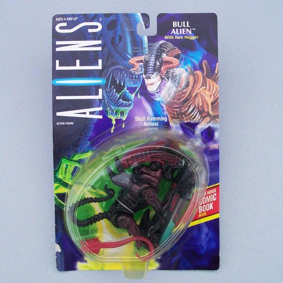 1992 Aliens Bull Alien (MOC) Never Opened