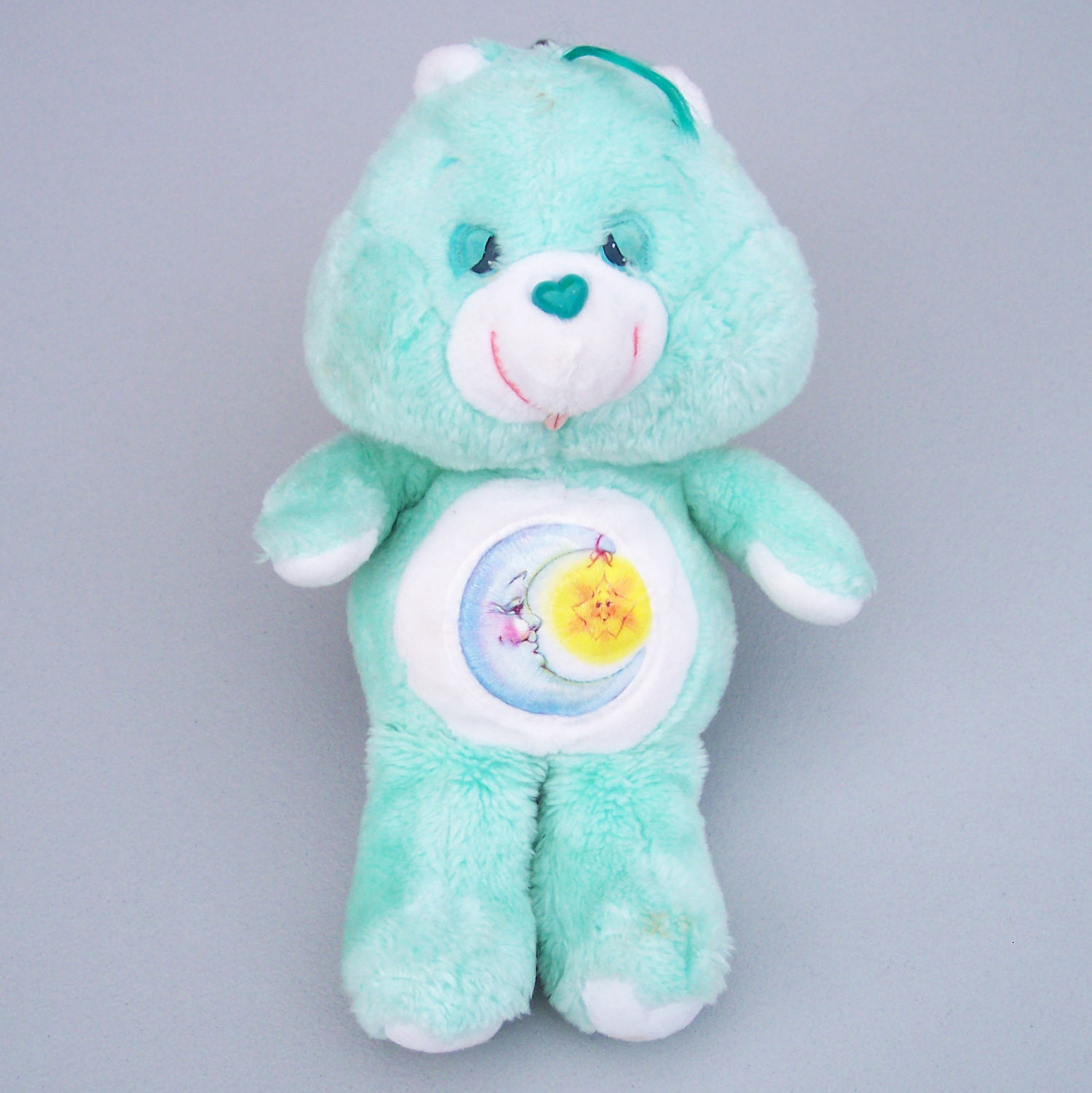 Vintage 1983 Care Bears Bedtime Bear Plush Doll