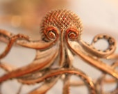 A Bracelet That  Will Get a Second Look -Unique Octopus Coppertone