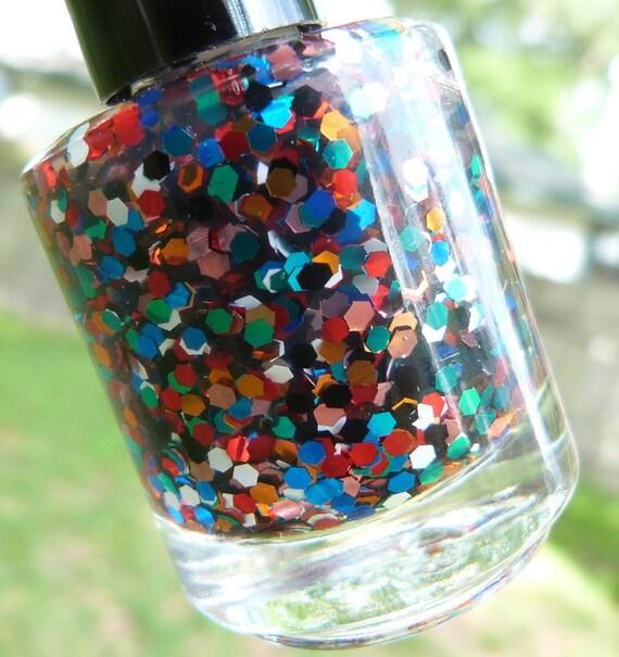 gumballs - handmade nail polish