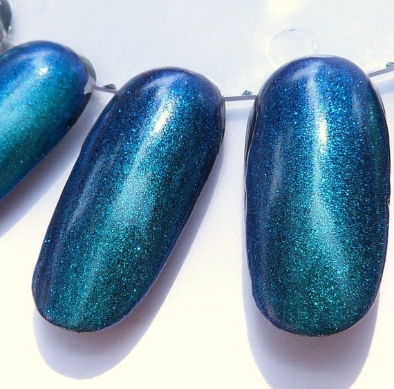 Erika - color shifting top coat - handmade nail polish