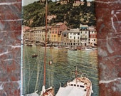 The SEAS of ITALY 1960s Enit Tourist BROCHURE guide beautiful photos of Italian ports, cities, harbours, shores & beaches
