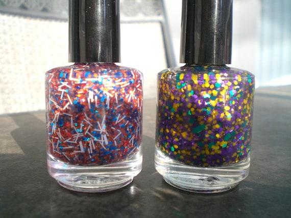 Summer Vacation Duo - Custom Blended Nail Polish