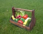 The Garden Harvest Basket for Fruits and Vegetables