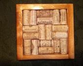 Pecan Wine Cork Trivet