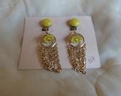 Vintage Dime Store Earrings