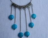 Blue Jade Necklace