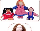 "Joy's Waldorf Dolls 13"" Little Love Dollmaking Sewing Pattern NEW - SALE Price"