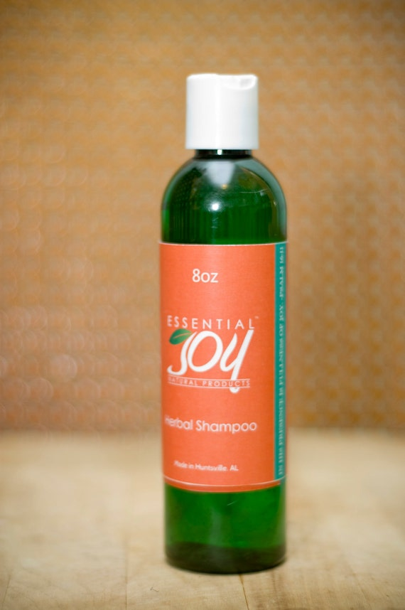 Everyone's Herbal Shampoo and Body Wash.  8 oz. Natural Hair Care, Natural Shampoo, Body Wash, Sulfate Free Shampoo