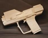 Halo 3 Master Chief sidearm M6G fullsize 1:1 resin prop unpainted kit.