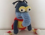 Gonzo from Muppet Show inspired plush