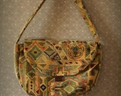Persian Carpet Purse -- Handbag