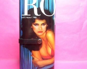 Rock This Way tribute to Gia Carangi magazine clutch purse