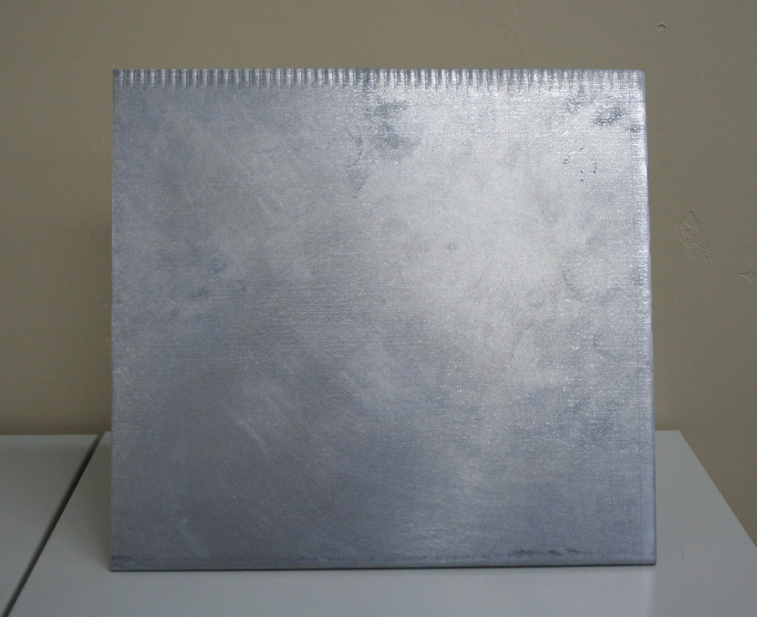 Rustic Recycled Magnet Board Galvanized Metal Magnetic Board