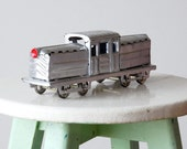 Vintage Locomotive Tin Toy 1970s RESERVED FOR Connie