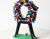 Horse Clay  Whistle Colorful Hand Painted - Craftwork