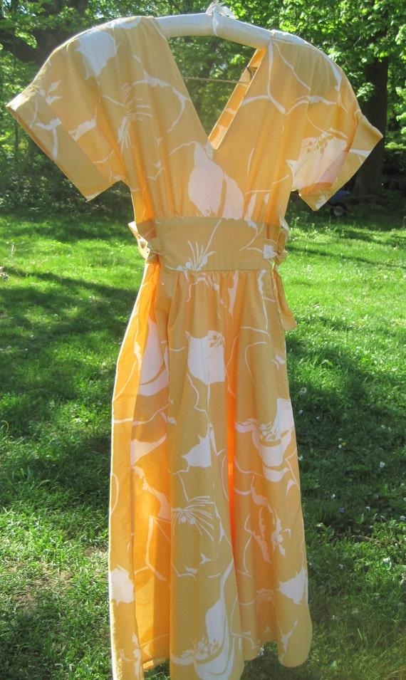 50's Retro Style 80's Wrap Dress. Mad Men