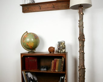 Recycled Tree Floor Lamp