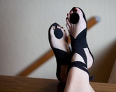 Handmade Sandals - Circles by Dijana Dzepina