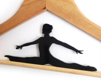Hanger - Ballet dancer - Laser Cut customize hanger - HangOnMe