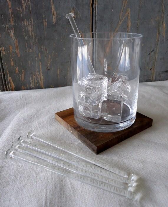 Glass Cocktail Stirrers