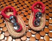 Baby Girl Jeweled Sandals