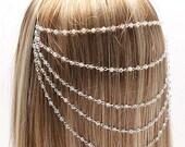 Beaded Hair Comb Chain