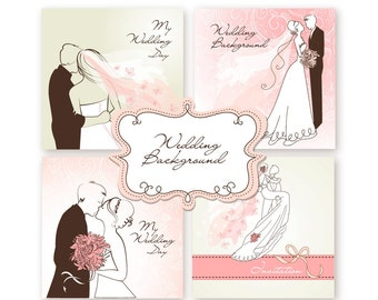 Custom Printable Wedding Invitations, Card Templates