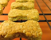 Peanut Butter & Oat Dog Biscuits