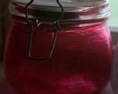 Custom Order -- Pink Solar Sun Jar