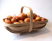 Garden Trug, traditional bent wood sussex trug