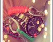 gigglosophy - double skinny cobra bracelet