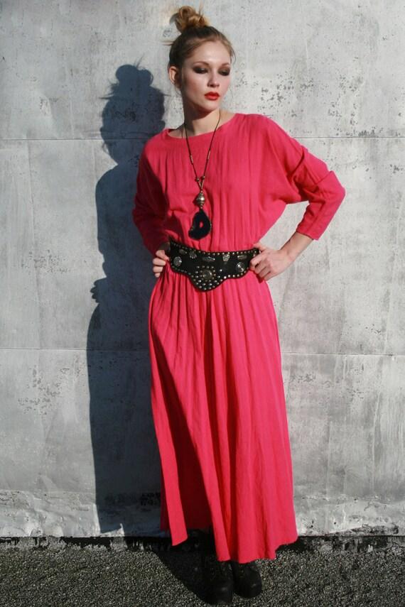 New Hero- Dolman Sleeve Maxi Dress