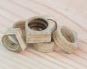 Wooden Ring poplar