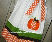 Pumpkin Pillowcase Dress