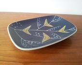 60s Mid Century // Soholm // Søholm // Einar Johansen // Modern Danish Design // Ceramic Trinket Tray