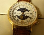Axcess Galactic( HERMES, Paris) Men's Chronograph, Running, In New Condition,With Day, Date, Moon Phase, 2 Registers Men's Quality Watc