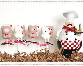 Bear Cake pops