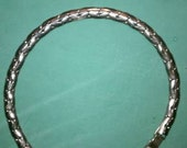 Kafin of NY vintage silver chunky necklace 1950's or 1960's
