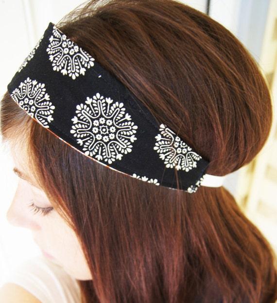 Boho Head Band . Headband. Flower Headband . Hippie Head Band . Hair Accessories . Boho Hair Accessories . Adult Headband