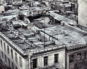 Post Apocalyptic Roof Tops Chinatown San Francisco