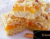 Apricot square crumb cookie
