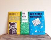 Vintage Cub Scout Manuals - 1960s