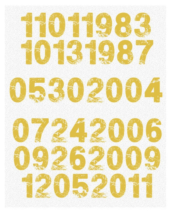 Important Dates Art Print - Never forget birthdays, anniversaries, special dates - Family Tree New Concept