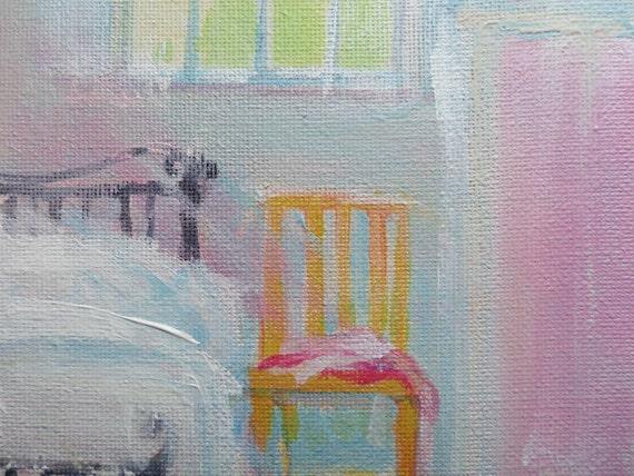 Bedroom Original Acrylic Painting