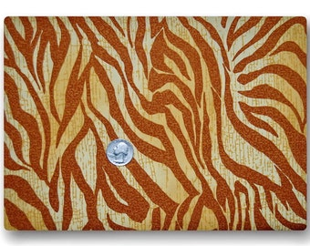 Giraffe Colored Zebra - Fabric By The Yard